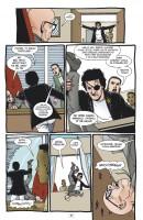 Ukázka z českého vydání komiksové sbírky Preacher: Spása.
