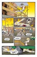 Ukázka z českého vydání komiksové sbírky Preacher: A pak vypukne peklo.