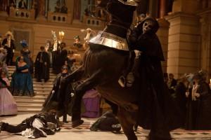 Samozřejmě přijede i smrt na svém černém koni.
