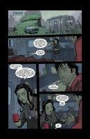 Ukázka z komiksové minisérie Supernatural: Caledonia.