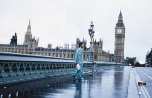 Krásně prázdný Londýn.
