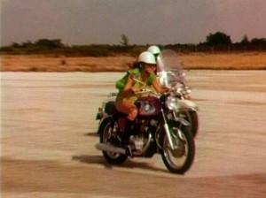 Rebelky na svých motorkách.