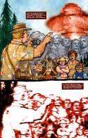 Ukázková strana z komiksové minisérie Remains.