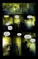 Ukázková strana z komiksové minisérie Choker.