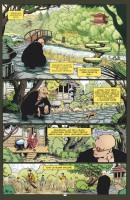 Ukázková stránka z českého vydání komiksu Transmetropolitan: Život je pes.