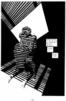 Ukázková strana českého vydání komiksu Sin City: Ženská, pro kterou bych vraždil.