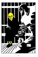 Ukázková strana českého vydání komiksu Sin City: Ten žlutej parchant.