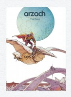 Obálka českého vydání komiksu Arzach.