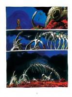 Ukázka z českého vydání komiksu Arzach.