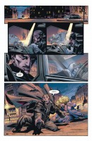 Ukázka z českého vydání komiksu Batman a syn.