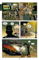 Ukázka z českého vydání komiksu DMZ: Tělo novináře.