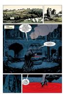 Ukázka z českého vydání komiksu Hellboy: Temnota vábí.