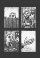 Ukázka z komiksu Thomase Otta Cinema Panopticum.