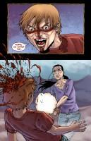 Ukázka z komiksové minisérie Crossed.