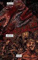 Ukázka z komiksové minisérie Crossed: Psychopat.