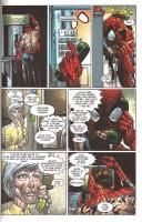 Ukázka z českého vydání komiksu Spider-Man: Návrat.