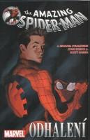 Obálka českého vydání komiksu Spider-Man: Odhalení.