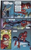 Ukázka z českého vydání komiksu Spider-Man: Odhalení.