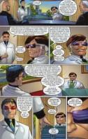 Ukázka z českého vydání komiksu Spider-Man: Dokud hvězdy nezhasnou.