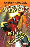 Obálka českého vydání komiksu Spider-Man: Příčiny a následky.