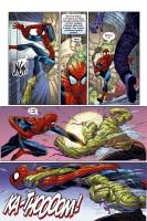 Ukázka z českého vydání komiksu Spider-Man: Příčiny a následky.