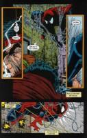 Ukázka z českého vydání komiksu Spider-Man: Utrpení.