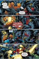 Ukázka z českého vydání komiksu Spider-Man: Šťastné narozeniny.
