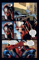 Ukázka z českého vydání komiksu Spider-Man: Hříchy minulosti.