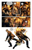 Ukázka z americké komiksové minisérie Victorian Undead.