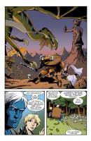 Ukázka z českého vydání komiksu Smax.