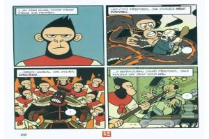 Ukázka z českého vydání komiksu Američan čínského původu.