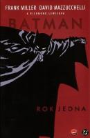Obálka českého vydání komiksu Batman: Rok jedna.