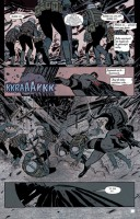 Ukázka z českého vydání komiksu Batman: Rok jedna.