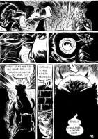 Ukázka z českého vydání komiksu Čajovna u malajského medvěda.
