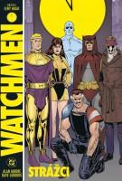 Obálka českého vydání komiksu Watchmen - Strážci.