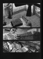 Ukázka z komiksu Thomase Otta Dead End.