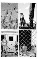 Ukázka z českého vydání komiksu Živí mrtví: Život plný utrpení.