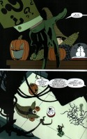 Ukázka z českého vydání komiksu Batman: Dlouhý Halloween II.