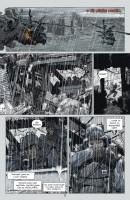 Ukázka z českého vydání komiksu DMZ: Palba do vlastních.