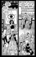 Ukázka z komiksové minisérie The Courtyard.