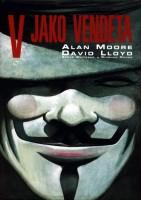 Obálka českého vydání komiksu V jako Vendeta.