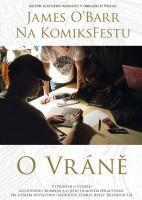 Obal DVD z vystoupení Jamese O'Barra v Praze.