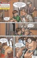 Ukázka z českého vydání komiksů Marvelova dobrodružství.