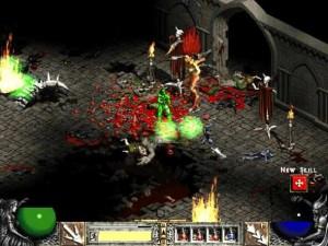 Ukázka ze hry Diablo II.