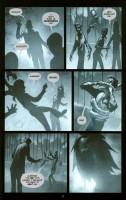 Ukázka z americké komiksové minisérie Aleister Arcane.