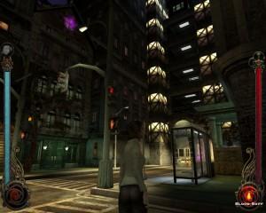 Ukázka z počítačové hry Vempire: The Masquarade - Bloodlines.