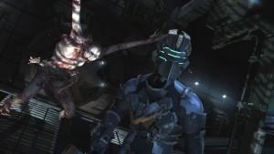 Ukázka z počítačové hry Dead Space 2.
