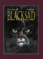 Obálka českého vydání komiksu Blacksad.