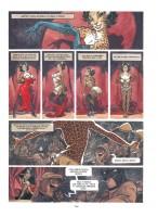 Ukázka z českého vydání komiksu Blacksad.