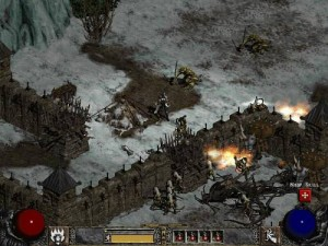 Ukázka ze hry Diablo II: Lord of Destruction.